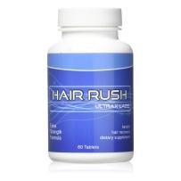 Ultrax Labs 高效咖啡因头发再生 防脱发刺激生长舒缓maxx Hair Rush 角蛋白维生素补充剂60粒