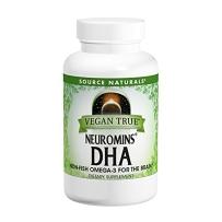 Source Naturals 纽曼斯DHA素食胶囊 200 Mg 30粒软胶