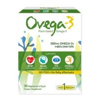 Ovega-3 欧美伽-3脂肪酸DHA+EPA素胶囊500mg 30粒