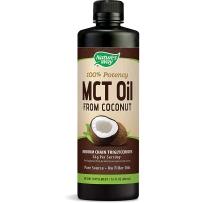 美国 Nature's Way MCT Oil 椰子增肌油增肌减脂生酮饮食运动健身480 ml