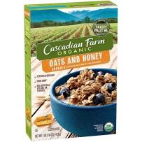 Cascadian Farm 有机蜂蜜蓝莓燕麦片 453g