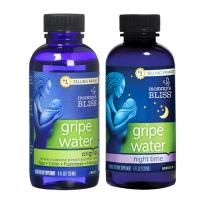 【日夜用组合装】Mommy's Bliss妈妈乐Gripe Water缓解腹痛胀气吐奶120ml*2