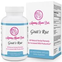 Mommy Knows Best Goat's Rue 山羊豆天然草本催乳母乳补充增加母乳 120粒胶囊