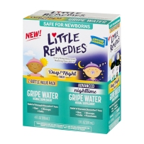 Little Remedies 日夜组合助消化滴剂 118ml+89ml 缓解胀气肠绞痛