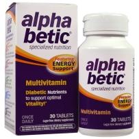 Alpha Betic 阿尔法硫辛酸平稳血糖专用综合维生素营养片30片