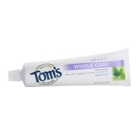 美国Tom's of Maine全效护理美白防蛀牙膏133g孕妇可用牙膏