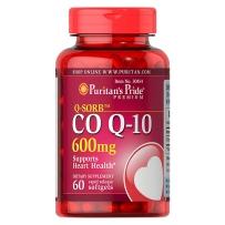 Puritan's Pride 普丽普莱 辅酶CoQ10软胶囊 600mg 60粒 保护心脏