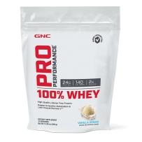GNC 100% Whey Protein 健安喜 乳清蛋白粉 香草味 408g