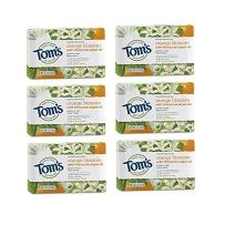 美国Tom's of Maine天然橙花美容皂配摩洛哥摩洛哥坚果油113G*6敏感皮肤孕妇适用香皂