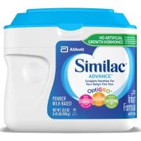 Similac 雅培 金盾1段(0-12个月) 婴儿配方奶粉 658g 最新包装