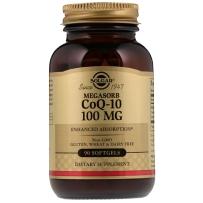 Solgar 辅酶Q10软胶囊100mg 90粒 成人中老年心脏保护强健心肌