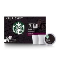 Starbucks 星巴克 非速溶咖啡胶囊 10支装 意大利式(深度烘焙)