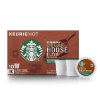 Starbucks 星巴克 非速溶咖啡胶囊 10支装 家庭综合(中度烘焙)无咖啡因