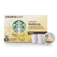 Starbucks 星巴克 非速溶咖啡胶囊 10支装 香草风味(调味咖啡)