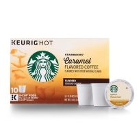 Starbucks 星巴克 非速溶咖啡胶囊 10支装 焦糖风味(调味咖啡)