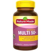 Nature Made 莱萃美 天唯美 中老年50+女性综合维生素/矿物质片 90粒