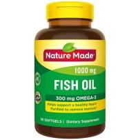 Nature Made 莱萃美 深海鱼油1000mg+300mg Omega3  90粒