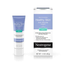Neutrogena露得清 抗皱视黄醇&维他命 SPF15防晒 面部颈部保湿霜 40g
