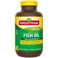Nature Made  天唯美莱萃美深海鱼油 1200 mg, 200粒 调节三高 保护心血管