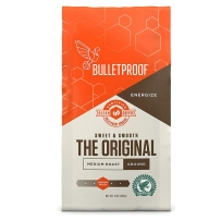 Bulletproof 防弹咖啡粉咖啡豆 生酮饮食低碳饱腹代餐 原始中度烘焙 咖啡粉 340g