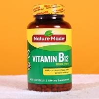 Nature Made莱萃美  天唯美 维生素B-12缓释片 促进发育保护神经系统 1000mcg400粒