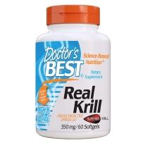 美国Doctor's Best 多特倍斯 南极磷虾油软胶囊 350mg 60粒 调节三高 改善心血管健康