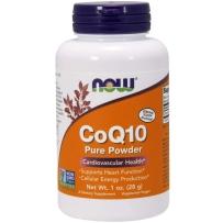 美国进口 NowFoods诺奥 非转基因纯粉辅酶Q10粉 28克 延缓衰老保护心脏健康