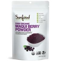 Sunfood Maqui berry Powder有机马基莓果粉 113g 智利酒果粉抗氧化 无麸质dhxj