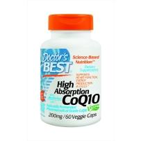 Doctor s Best辅酶Q10 CoQ10 药品级 200毫克 60粒