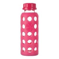 lifefactory婴儿童水杯奶瓶鸭嘴杯学饮杯玻璃杯防摔隔热250ml