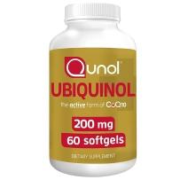 Qunol 天然强效护心辅酶CoQ10 200mg 60粒
