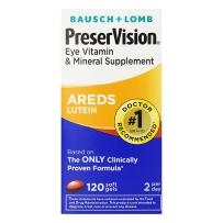PreserVision博士伦AREDS BAUSCH多维生素叶黄素120粒/瓶 眼部维生素领导者.2