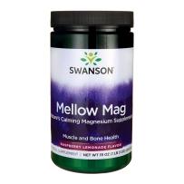 Swanson斯旺森 无糖碳酸镁330mg 粉末543g 树莓柠檬味缓解压力骨骼肌肉神经