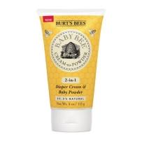 Burt`s bees小蜜蜂天然液体爽身粉 护臀膏二合一 113g
