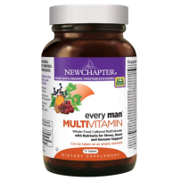 New Chapter新章 男性每日复合维生素片含矿物质 72粒 维护男性健康