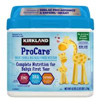 可兰(Kirkland) 柯克兰 婴幼儿奶粉1段 0-12月 1.2kg