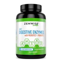 Zenwise LabsZenwise Labs天然消化酶益生菌片助消化提高胃动力改善肠胃180粒胶囊