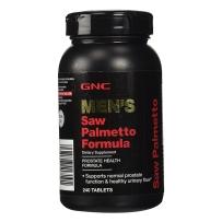 GNC 男士锯棕榈片 240粒 保护前列腺
