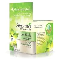 Aveeno 天然大豆亮彩焕肤晚霜48小时保湿孕妇适用48g