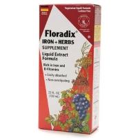 Floradix Iron + Herbs 铁元草药滋补液 700ml 补铁补气血调经祛黄