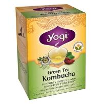 美国Yogi Kombucha瑜伽有机绿茶 提高免疫力保护消化系统 16包