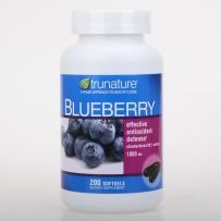 美国原装Trunature天然蓝莓精华 保护视力1000mg 200粒