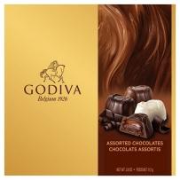 Godiva什锦夹心巧克力黄金礼品盒115G