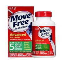 Schiff Move Free 氨基葡萄糖+MSM维骨力 1500mg  120粒