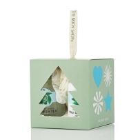 美国直邮 The body shop/美体小铺 沐浴露身体乳3件圣诞套装 富士山绿茶