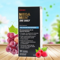GNC MEGA MEN® One Daily 男性复合维生素 60 粒