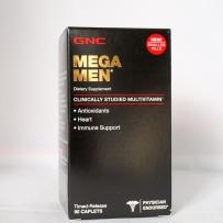GNC MEGA MEN 男性复合维生素缓释片 90片