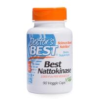 Doctor's Best 納豆激酶改善血管预防血栓血管堵塞2000 FU 90粒胶