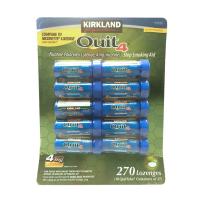 Kirkland4mg可兰戒烟糖有效的尼古丁硬糖270粒(十瓶)