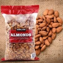 Kirkland almond原味生大杏仁扁桃仁1360g